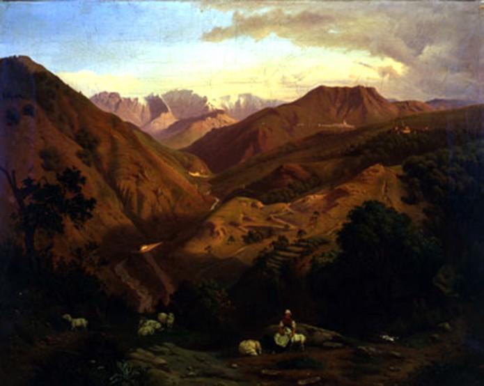 Nella valle del Serchio