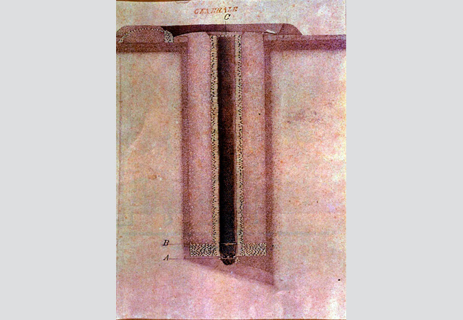 """Il """"pozzo del centro"""" a Servirola (S. Polo d'Enza). V secolo a.C."""