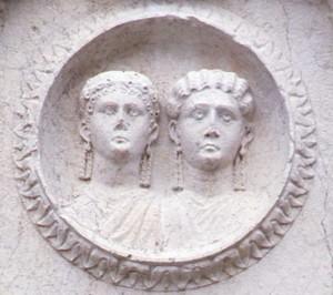 Monumento funerario dei Concordii (particolare)
