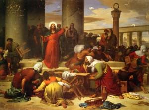 Galleria Fontanesi – La cacciata dei profanatori dal tempio