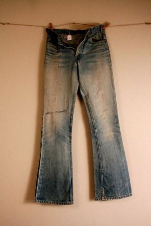 Come vestiremo – Jeans Levi's, anni '70