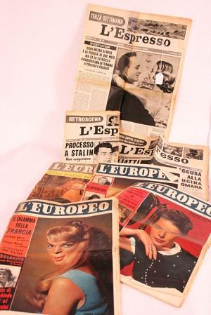 """Come parteciperemo – Settimanali """"L'Espresso"""" e """"L'Europeo"""""""