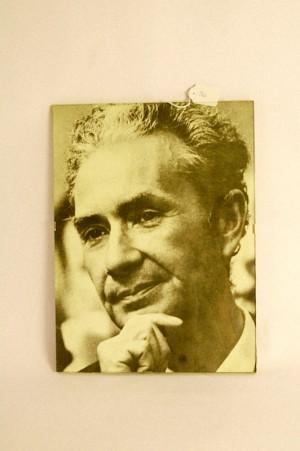 Come parteciperemo – Fotografia di Aldo Moro sotto vetro, anni '60