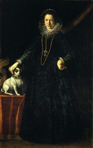 Come vestiremo – Ritratto di gentildonna con cane (Camilla Ruggeri Brami#)
