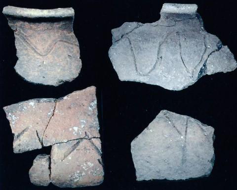 Liguri - Oggetti del corredo funerario