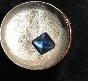 Cristallo di fluorite, collezione Spallanzani
