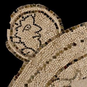 Mosaico raffigurante la mezzaluna, Chiesa di San Giacomo Maggiore, XII secolo (part.)