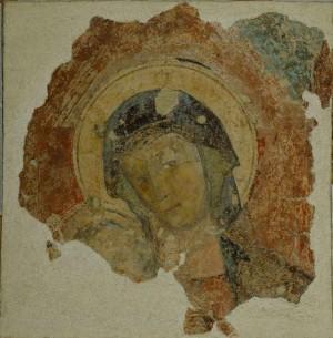 Madonna con il Bambino, Pittore emiliano, XV secolo