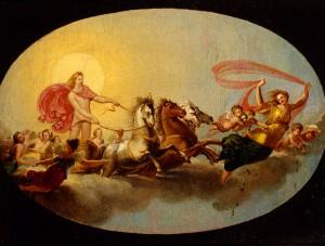Prospero Minghetti, Il carro di Apollo, XIX secolo