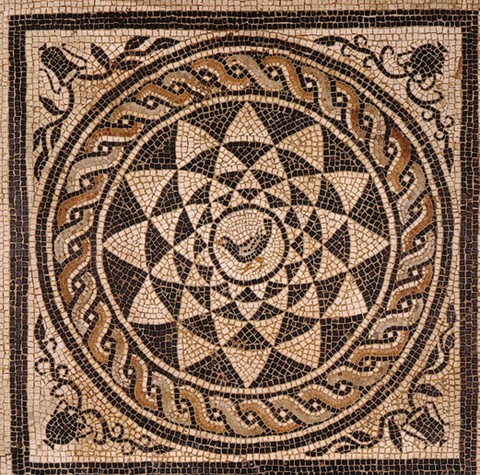 Mosaico di età romana, area della Cattedrale di Reggio Emilia