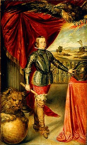 Sebastian de Herrera Barnuevo (att.), Ritratto del principe Baltazar Carlos, XVII secolo