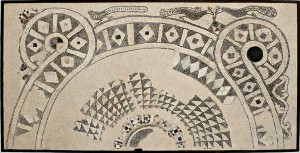 Mosaico, Cattedrale di Reggio Emilia, XII secolo