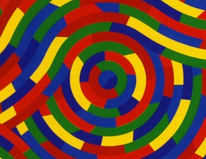 Sol Lewitt, Thwirls and Wirls #1, 2003 (part.)