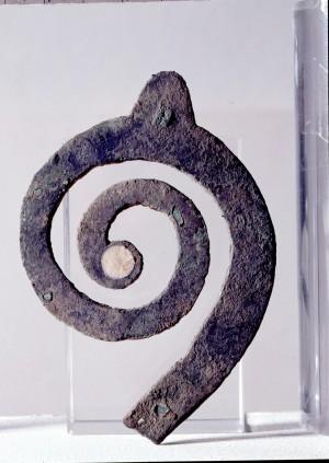Frammento di lituo di epoca etrusca, Sant'Ilario d'Enza (RE)