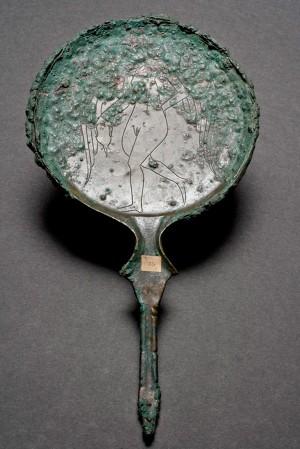 Specchio etrusco, Isola d'Elba