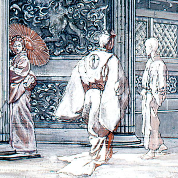 Ingresso di un Tempio Giapponese