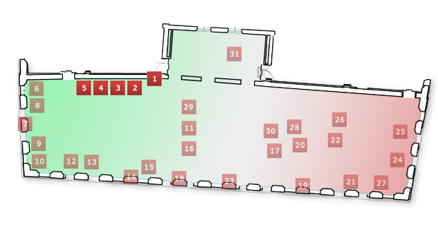 Museo Tricolore: Sala 2, sez. I