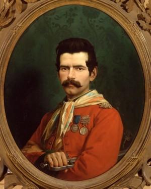 Ritratto di Eugenio Bianchini, dipinto di Gaetano Chierici -1868