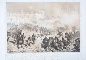 Battaglia di San Martino (24 giugno 1859), litografia – 1860