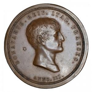 Medaglia di Bonaparte Presidente della Repubblica Italiana