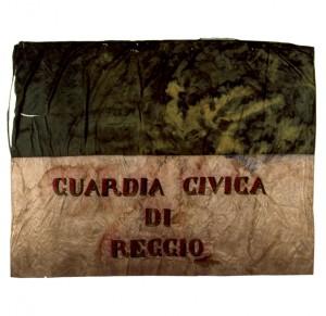 Bandiera della Guardia Civica di Reggio