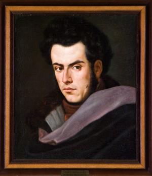 Ritratto di Ciro Menotti. Dipinto di Adeodato Malatesta – sec.XIX