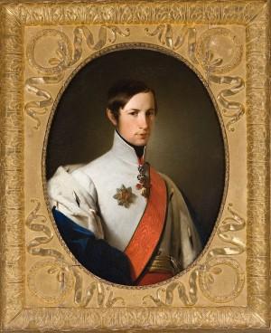 Francesco V, dipinto di Adeodato Malatesta -1846