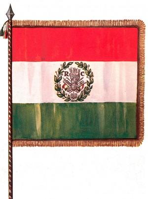 Bandiera della Repubblica Cispadana, ricostruzione di Ugo Bellocchi