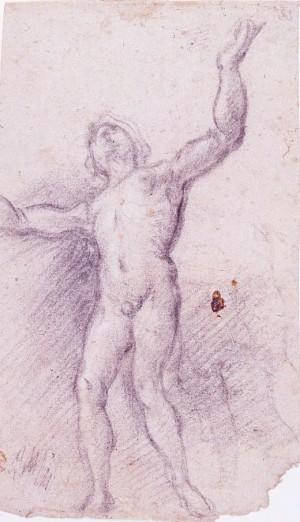 Alessandro Casolani – Studio di figura maschile nuda