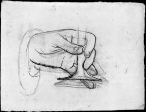 Alfonso Chierici – Studio di mano_2