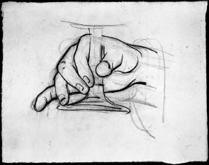 Alfonso Chierici – Studio di mano_3