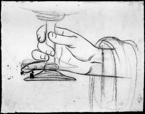 Alfonso Chierici – Studio di mano_4