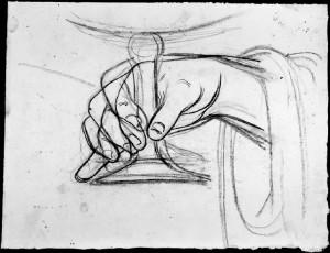 Alfonso Chierici – Studio di mano_5