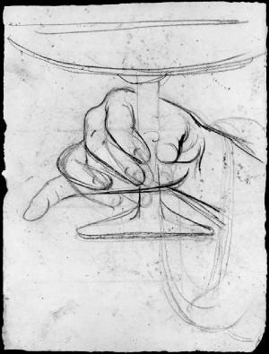 Alfonso Chierici – Studio di mano_7