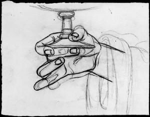 Alfonso Chierici – Studio di mano_8