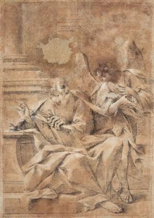 Ambito bolognese (XVIII secolo) – San Matteo e l'angelo