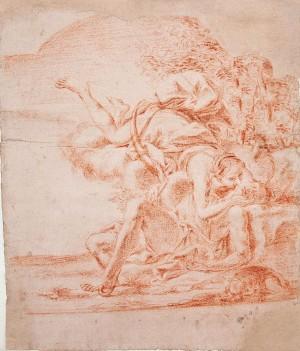 Ambito emiliano (da Marcantonio Franceschini) – Diana e Endimione