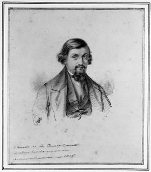 Antonio Fontanesi – Ritratto di Rodolfo Conzetti