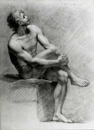 Filippo Pedrini – Studio di nudo