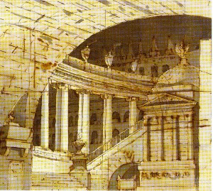 Francesco Fontanesi – Vasto tempio sotterraneo