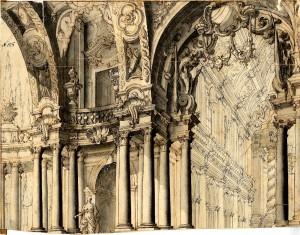 Giovanni Antonio Paglia – Atrio del tempio di Diana