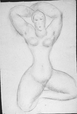 Giovanni Costetti – Nudo femminile