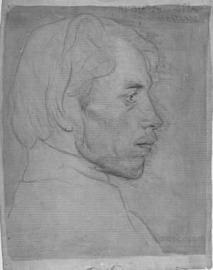 Giovanni Costetti – Ritratto dello scultore Géza Rubletzky