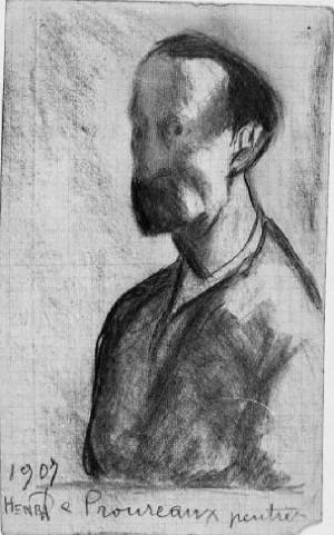 Giovanni Costetti – Ritratto di Henry Proureaux