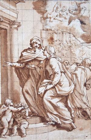 Giovanni Maria Morandi – Visita di santa Elisabetta