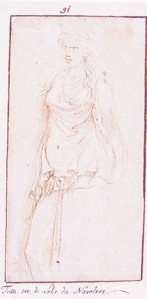 Girolamo da Carpi – Tre studi dall'antico (2)