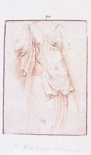 Girolamo da Carpi – Tre studi dall'antico (3)