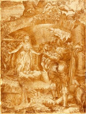 Lelio Orsi – Adorazione dei pastori