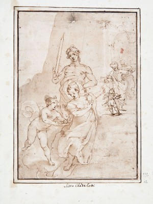 Raffaellino Motta, detto Raffaellino da Reggio – Martirio di Santa Dorotea