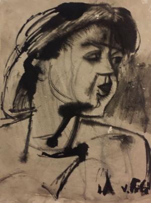Vivaldo Poli – Ritratto di donna